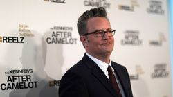 Matthew Perry se défile face à Justin