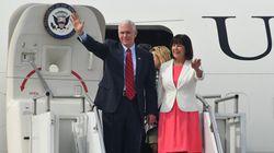 Le vice président américain Mike Pence est arrivé en Corée du