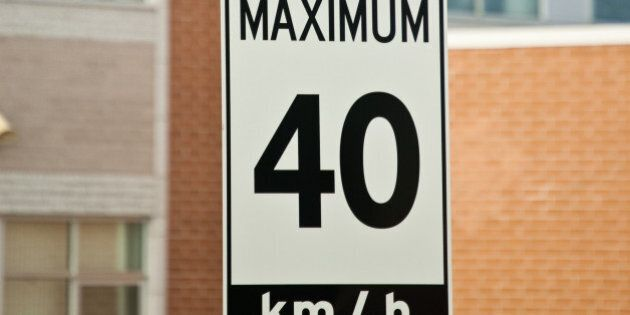 Children at Play and Maximum 40 km/h