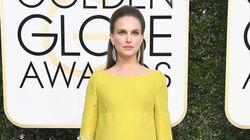 Golden Globes 2017: Natalie Portman enceinte éblouissante en