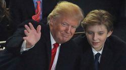 Une humoriste rit du fils de Trump et est suspendue