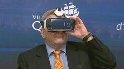 Des spécialistes en réalité virtuelle en congrès à