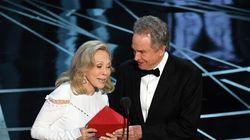 Bourde aux Oscars: les deux responsables de la gaffe historique seront sévèrement