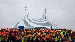 «Volta» du Cirque du Soleil: découvrez les photos de la levée du