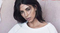 Kim Kardashian en Yeezy sur la couverture du Vogue