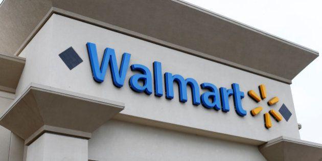 A Walmart store is seen in Encinitas, California April 13, 2016. REUTERS/Mike Blake/File