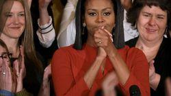 Les adieux émus de Michelle Obama à la