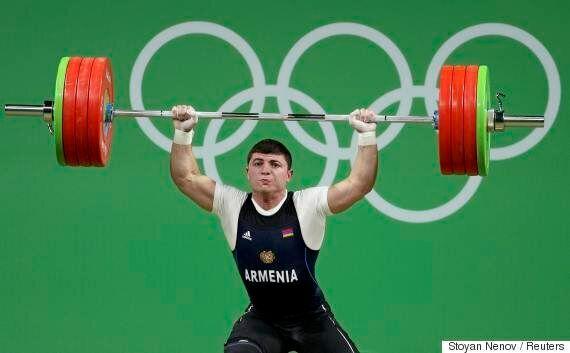 Un haltérophile arménien, Andranik Karapetyan, hospitalisé après une grave blessure à Rio