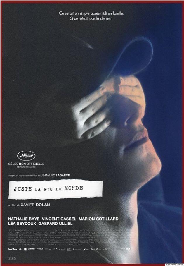 «Juste la fin du monde»: Xavier Dolan dévoile l'affiche finale de son prochain