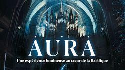 «Aura»: Moment Factory s'invite à la Basilique Notre-Dame pour le 375e de