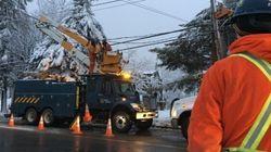 Pannes d'électricité: des centres temporaires ouverts à Rosemère et