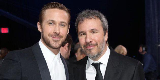 SANTA MONICA, CA - DECEMBER 11: (L-R) Actor Ryan Gosling and filmmaker Denis Villeneuve attend the 22nd...