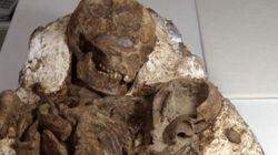 Une mère fossilisée a tenu son bébé dans ses bras pendant 5 000