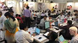 "Inside A Congress ""War Room"" On Polling Day In"