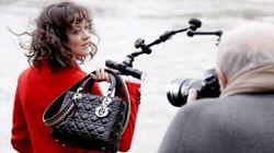 Dans les coulisses de la nouvelle campagne Lady Dior avec Marion