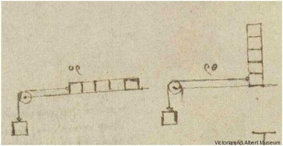 Dans les «gribouillis» de de Vinci se cachait une grande découverte de