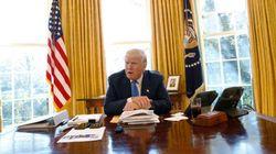 Trump a un bouton rouge sous son bureau, mais pas pour ce que vous