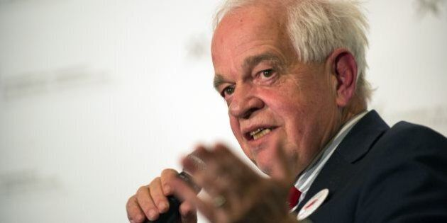 Canada's Immigration, Citizenship and Refugees Minister John McCallum speaks at the board of trade of Metropolitan Montreal on March 16, 2015. Canada aims to take in up to 57,000 refugees this year, double the number from 2015, McCallum has said. By the end of 2016 Canada will have welcomed between 280,000 and 305,000 new permanent residents, including the refugees, he said. / AFP / ALICE CHICHE        (Photo credit should read ALICE CHICHE/AFP/Getty Images)