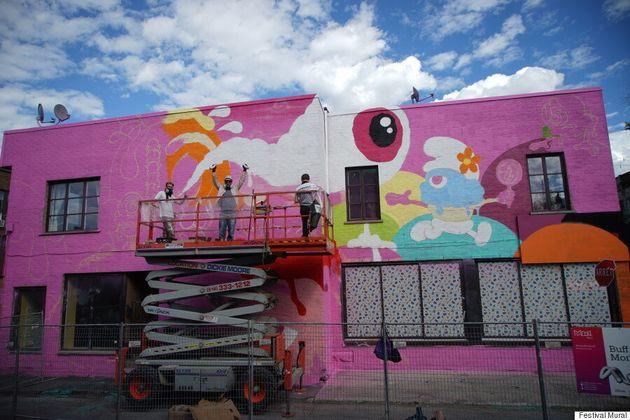 La crème de la crème au festival Mural