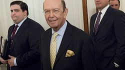 Le secrétaire américain au Commerce désigné interrogé sur ses liens