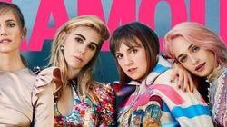 Lena Dunham affiche fièrement sa cellulite en couverture du magazine