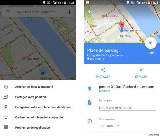 Avec cette option de Google Maps, vous n'oublierez plus jamais où est stationnée votre