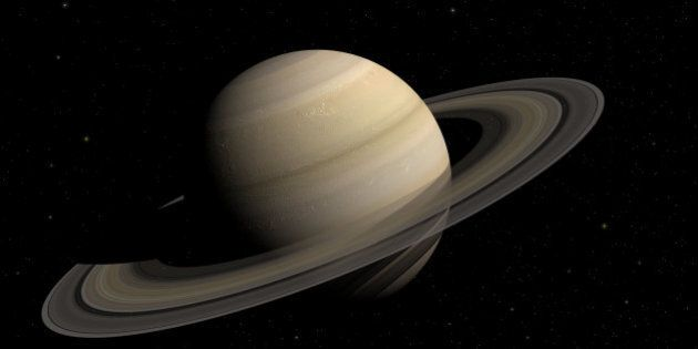 3d render of the planet Saturn