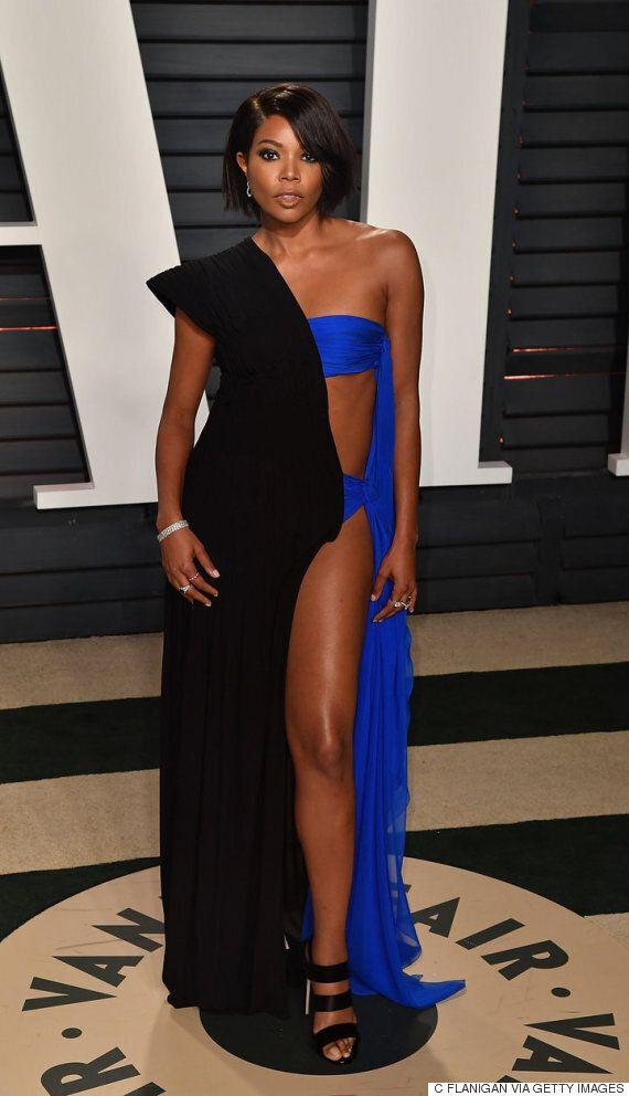 Oscars 2017: Gabrielle Union portait une robe mi-maillot de bain lors de la soirée post