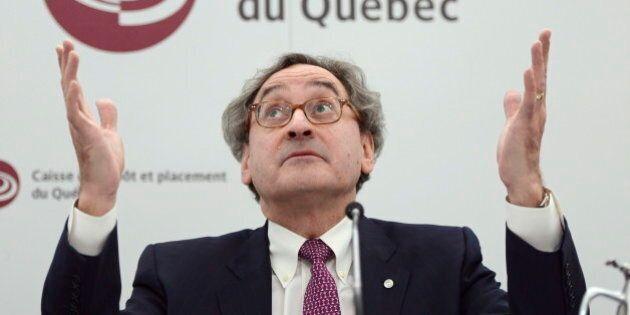 Combien ont gagné les patrons de la Caisse de dépôt et placement du Québec en