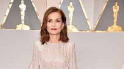 Oscars 2017: Isabelle Huppert ambassadrice de l'élégance française sur le tapis