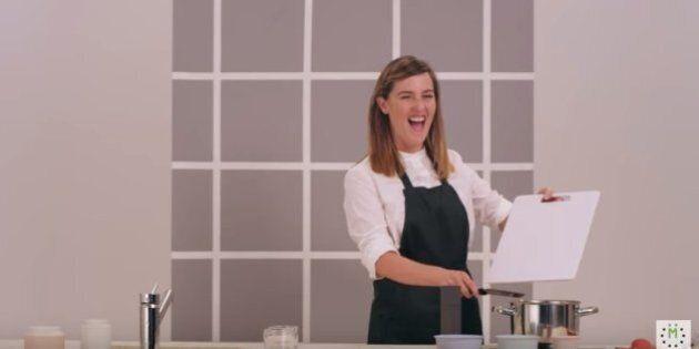 Florence Longpré porte-parole d'une campagne d'aide alimentaire de Moisson