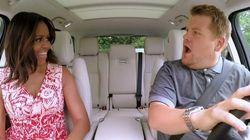 Quand Michelle Obama chante Stevie Wonder en voiture