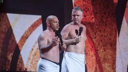 Gala Martin-Paquet: Mike Ward accueilli en roi