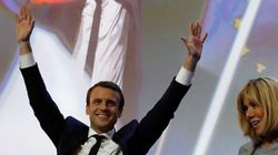 Présidentielle: La 1re place de Macron bien accueillie à