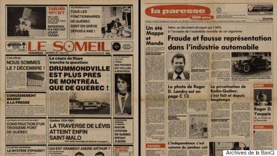 Il y a 33 ans, le magazine Croc publiait une version satirique du Journal de