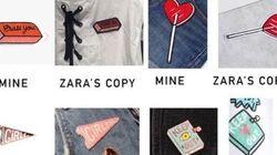Zara accusée de copier les designs d'une