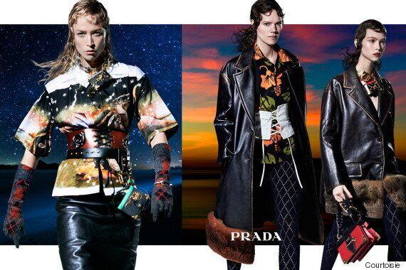 Éloge à la diversité dans la nouvelle campagne de Prada avec ses 27 mannequins