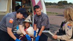 «HELP» : une mamie perdue dans le désert pendant 9