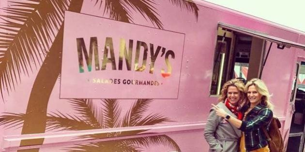 Mandy's salades gourmandes a son camion de