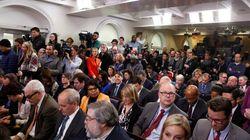 L'équipe Trump pourrait déménager la salle de presse de la