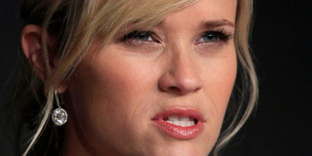 Cast member Reese Witherspoon attends a news conference for the