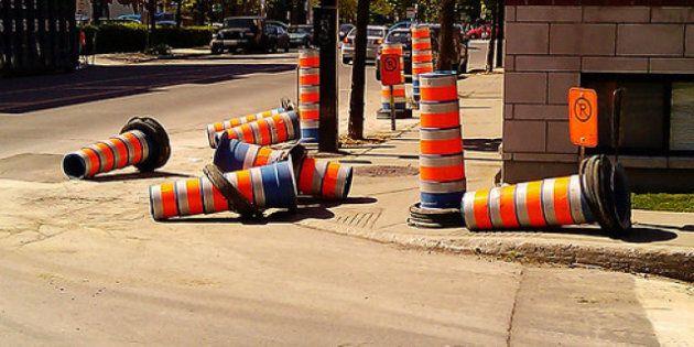 Près de 700 millions en travaux à Montréal en