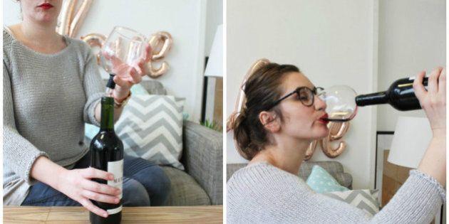 Guzzle Buddy: parce qu'un verre de vin, ce n'est pas