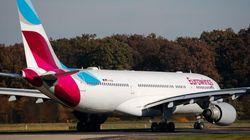 Un avion d'Eurowings est dérouté au