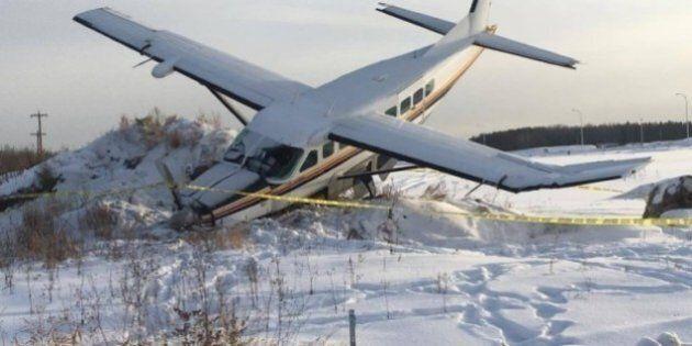 Un petit avion s'écrase près de l'aéroport de Fort McMurray sans faire de blessés