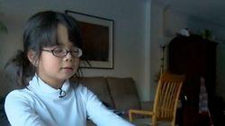 Amélie, 7 ans, aveugle et