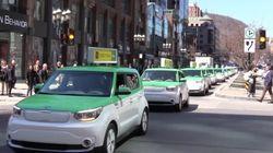 Les taxis électriques de Taillefer prêts «à remplacer» Uber