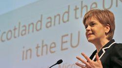 Brexit: l'Écosse pourrait opposer son veto, dit sa première