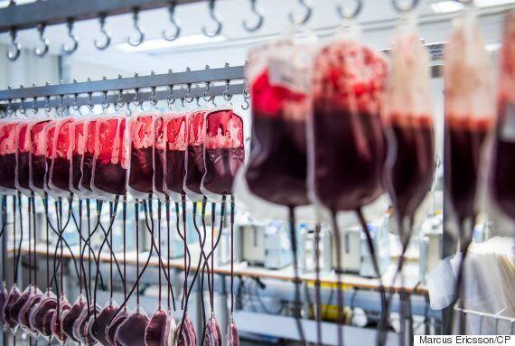 La période d'exclusion des dons de sang des homosexuels sera écourtée, mais pas