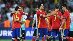 L'Espagne qualifiée pour les 8e de